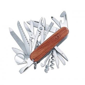 Нож VICTORINOX SwissChamp Wood дерево 29 функций 91 мм карт.коробка