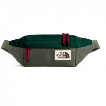 Сумка поясная THE NORTH FACE Lumbar Pack цв. night green / new taupe green 4 л