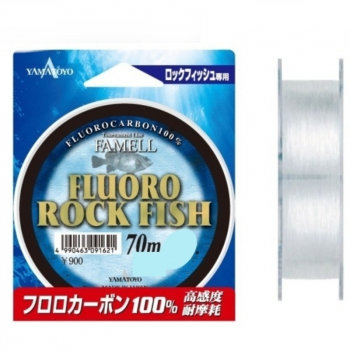 Флюорокарбон YAMATOYO Fluoro Rock Fish, #0.6, 70 м, прозрачный в интернет магазине Rybaki.ru
