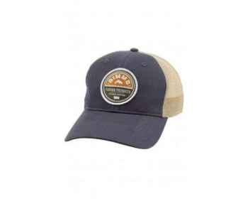 Кепка SIMMS Original Patch Trucker цв. Dark Moon