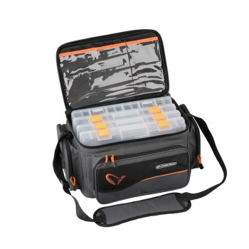 Сумка SAVAGE GEAR System Box Bag р. L 4 boxes в интернет магазине Rybaki.ru