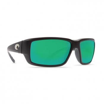 Очки поляризационные COSTA DEL MAR Fantail W580 р. M цв. Matte Black цв. ст. Green Mirror Glass