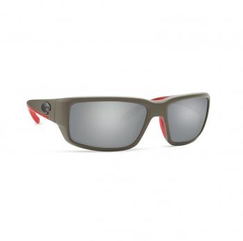 Очки поляризационные COSTA DEL MAR Fantail 580P р. M цв. Race Gray цв. ст. Gray Silver Mirror