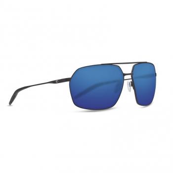 Очки поляризационные COSTA DEL MAR Pilothouse 580P р. XL цв. Matte Black/Black цв. ст. Blue Mirror