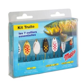 Набор блесен MEPPS Kit Truite для ловли форели в интернет магазине Rybaki.ru
