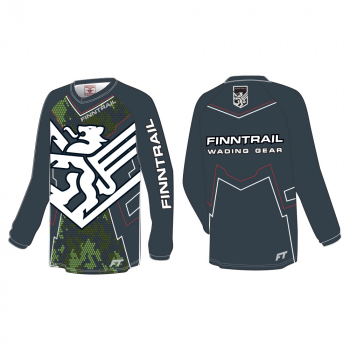 Джерси FINNTRAIL Jersey 6601_N цвет Камуфляж / Серый