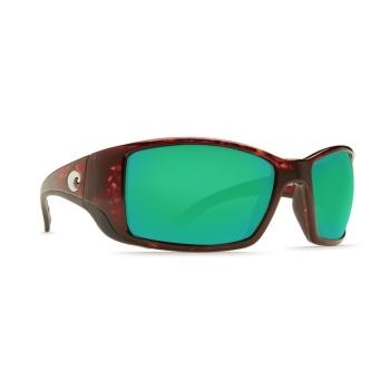 Очки поляризационные COSTA DEL MAR Blackfin W580 р. L Global Fit цв. Tortoise цв. ст. Green Mirror Glass
