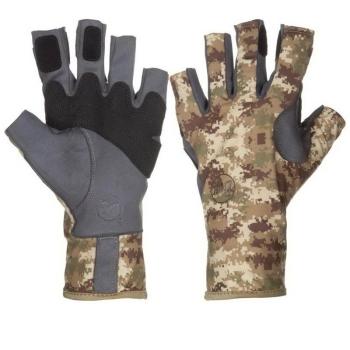 Перчатки рыболовные BUFF Angler II Gloves цвет Pixels Desert