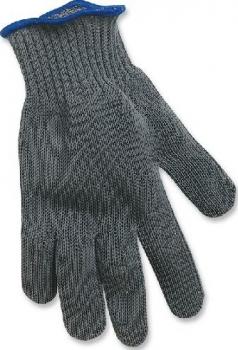 Перчатка RAPALA Fillet Glove филейная кевларовая цвет серый в интернет магазине Rybaki.ru