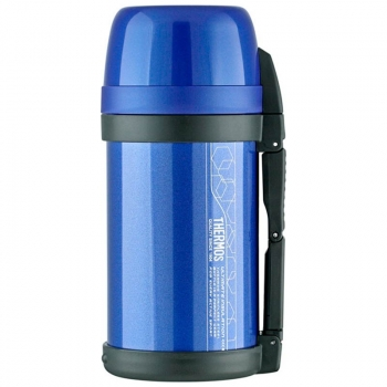 Термос THERMOS FDH-2005 MTB Vacuum Inculated Bottle 1,4 л цв. Синий в интернет магазине Rybaki.ru