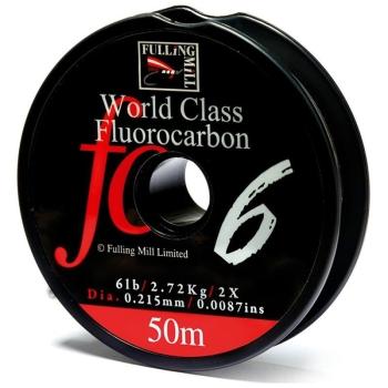 Поводковый материал FULLING MILL World Class Fluorocarbon 50 м 0,3 мм в интернет магазине Rybaki.ru