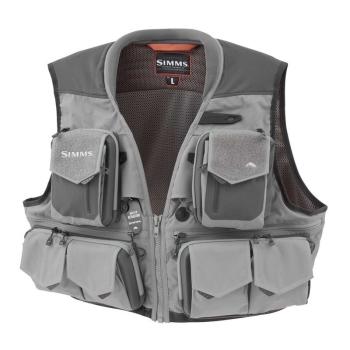 Жилет SIMMS Guide Vest цвет Steel в интернет магазине Rybaki.ru