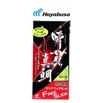 Крючок подвесной HAYABUSA SE-145 №3, оснастка из 2 крючков (2 шт.) в интернет магазине Rybaki.ru