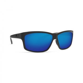 Очки поляризационные COSTA DEL MAR Cut 580P р. L цв. Blackout цв. ст. Blue Mirror