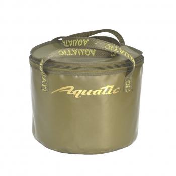 Ведро AQUATIC В-05 для замешивания корма 20 л (герметичное, с крышкой) в интернет магазине Rybaki.ru