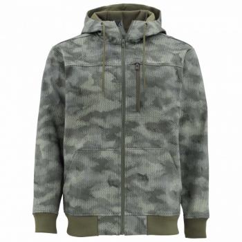Куртка SIMMS Rogue Fleece Hoody цвет Hex Camo Loden