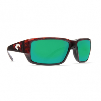 Очки поляризационные COSTA DEL MAR Fantail W580 р. M цв. Tortoise цв. ст. Green Mirror Glass