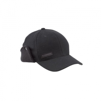 Шапка SIMMS Wool Scotch Flexfit Flap Cap цв. Black