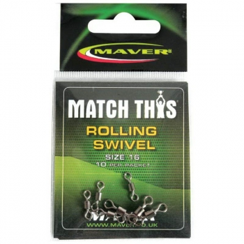 Вертлюг MAVER Match This р. 14 (10 шт.) в интернет магазине Rybaki.ru