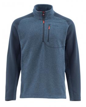 Пуловер SIMMS Rivershed Sweater Quarter Zip цвет Dark Moon