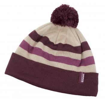 Шапка SIMMS Women's Fleece Lined Pom Hat цв. Malbec