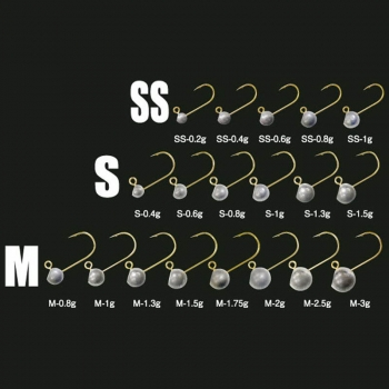 Джиг-Головка TICT Azing Standart 1 гр, кр. р. M (5 шт.)