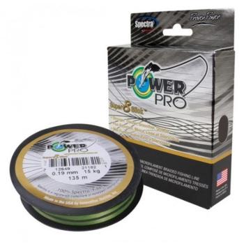 Плетенка POWER PRO S8S Aqua Green 135 м 0,32 мм цв. Зеленый в интернет магазине Rybaki.ru