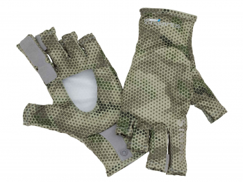 Перчатки SIMMS Solarflex Sunglove цвет Hex Camo Loden