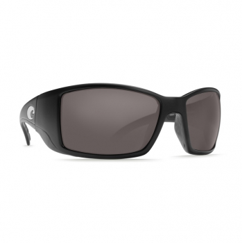 Очки поляризационные COSTA DEL MAR Blackfin 580G р. L цв. Matte Black Global Fit цв. ст. Gray Silver Mirror