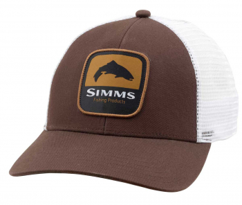 Кепка SIMMS Trout Patch Trucker цв. Bark