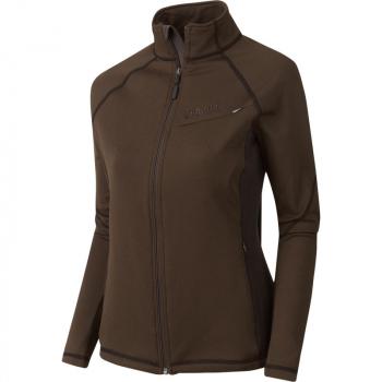 Толстовка HARKILA Vestmar Hybrid Lady Fleece Jacket цвет Slate brown melange