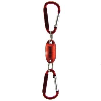 Держатель магнитный ISAMU универсальный металлический регулируемый цв. Красный