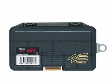 Коробка MEIHO Versus Worm Type VS-802 р. W-S цв. черный прозрачный в интернет магазине Rybaki.ru