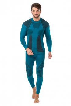Комплект термобелья V-MOTION F10 мужской цвет Изумрудный