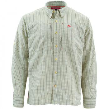 Рубашка SIMMS Bugstopper Shirt цвет Dark Slate Plaid