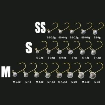 Джиг-Головка TICT Azing Standart 1,3 гр, кр. р. S (5 шт.)