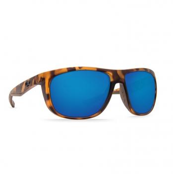 Очки поляризационные COSTA DEL MAR Kiwa W580 р. XL цв. Matte Retro Tortoise цв. ст. Blue Mirror Glass