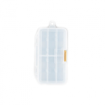 Коробка MEIHO Worm Case S цв. прозрачный в интернет магазине Rybaki.ru
