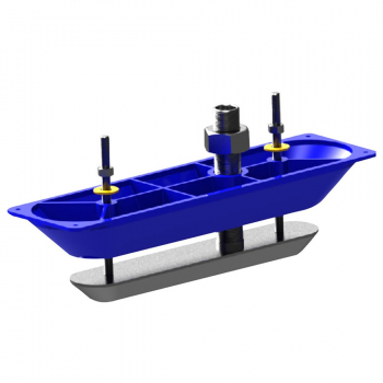 Датчик LOWRANCE StructureScan 3D Transducer Stainless Steel Thru-Hull Single