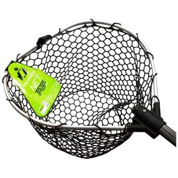 Подсачек TSURIBITO Net Trap Fold с прорезиненной сеткой складной 170 см д. 70 х 60 см в интернет магазине Rybaki.ru