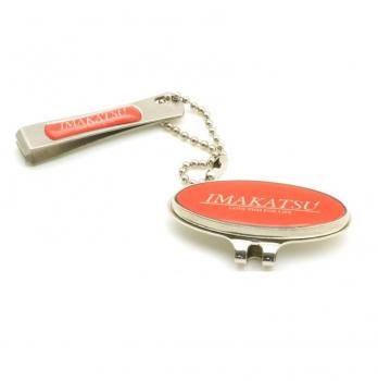 Кусачки IMAKATSU Line Cutter Magnetic Cap цв. red