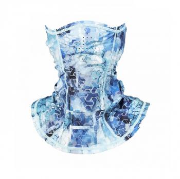 Маска FHM Mark цвет Голубой принт в интернет магазине Rybaki.ru