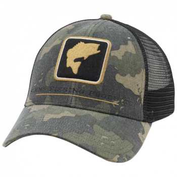 Кепка SIMMS Bass Icon Trucker цв. Camo