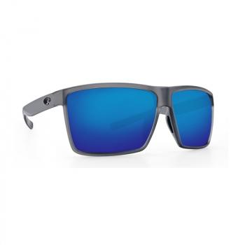Очки поляризационные COSTA DEL MAR Rincon 580P р. XL цв. Matte Smoke цв. ст. Blue Mirror