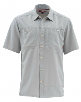 Рубашка SIMMS Ebb Tide SS Shirt цвет Sterling