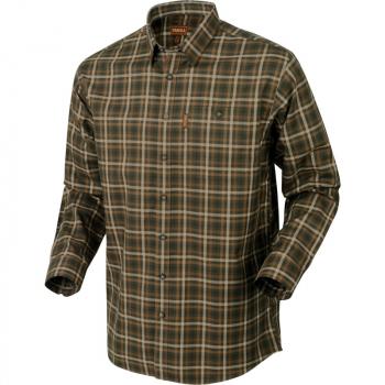 Рубашка HARKILA Milford Shirt цвет Burgundy Check