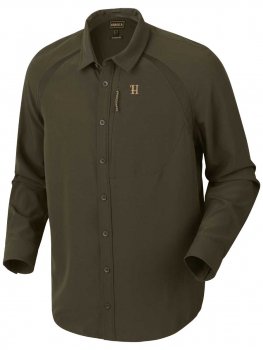 Рубашка HARKILA Herlet Tech Shirt цвет Willow green