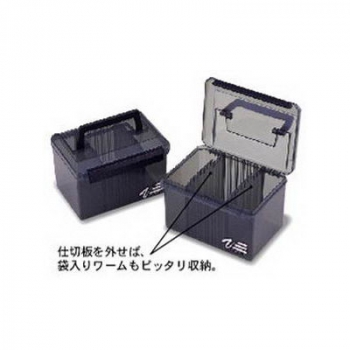 Ящик MEIHO Versus VS-4060 черный цв. черный в интернет магазине Rybaki.ru