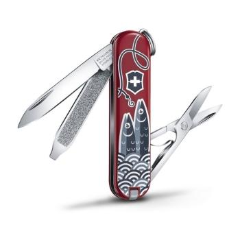 Нож VICTORINOX Classic LE2019 Sardine Can 7 функций 58 мм подар.коробка