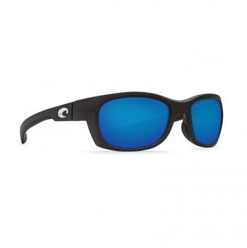 Очки поляризационные COSTA DEL MAR Trevally W580 р. S цв. Matte Black цв. ст. Blue Mirror Glass